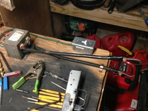 MY OWN DO IT YOURSELF SPOT WELDER. AND IT WORKS GREAT!!!