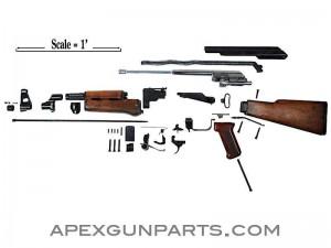 Polish AK parts kit without barrel.
