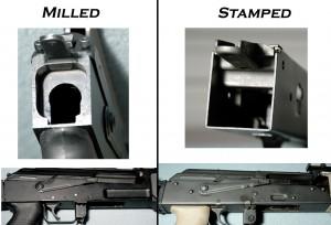 Stamped vs milled receiver.